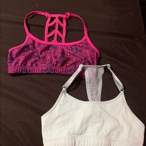 Youth sports bra (2 pack)